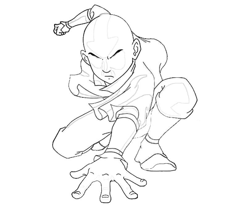 printable-avatar-aang-power_coloring-pages