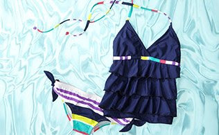 MyHabit: Up to 60% off Splendid Girls - these striped and printed swimsuits, bikinis and tankinis are certain to make a big splash at the beach.