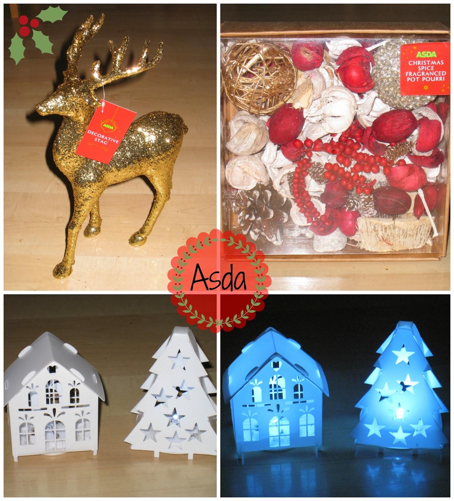 Asda Online Christmas Decorations: Handbags To Change Bags: Christmas Home Decor