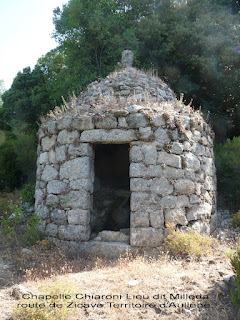 chapelle Chiaroni route Zicavo Milleda