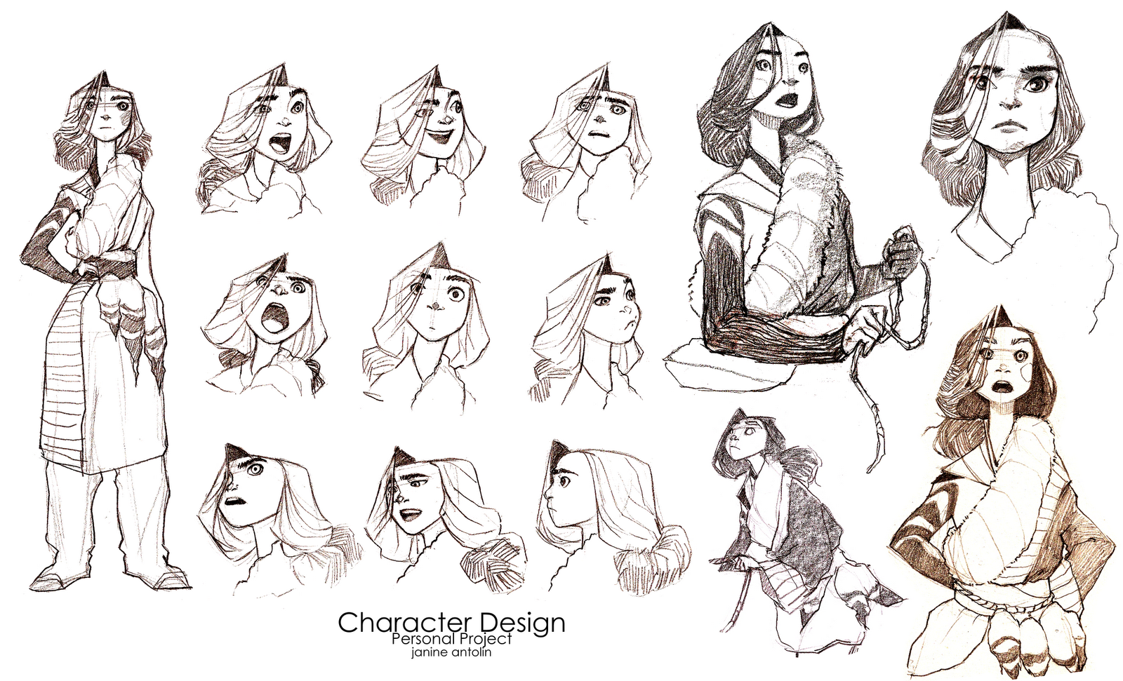 Character Design Portfolio : Character sheet on pinterest design