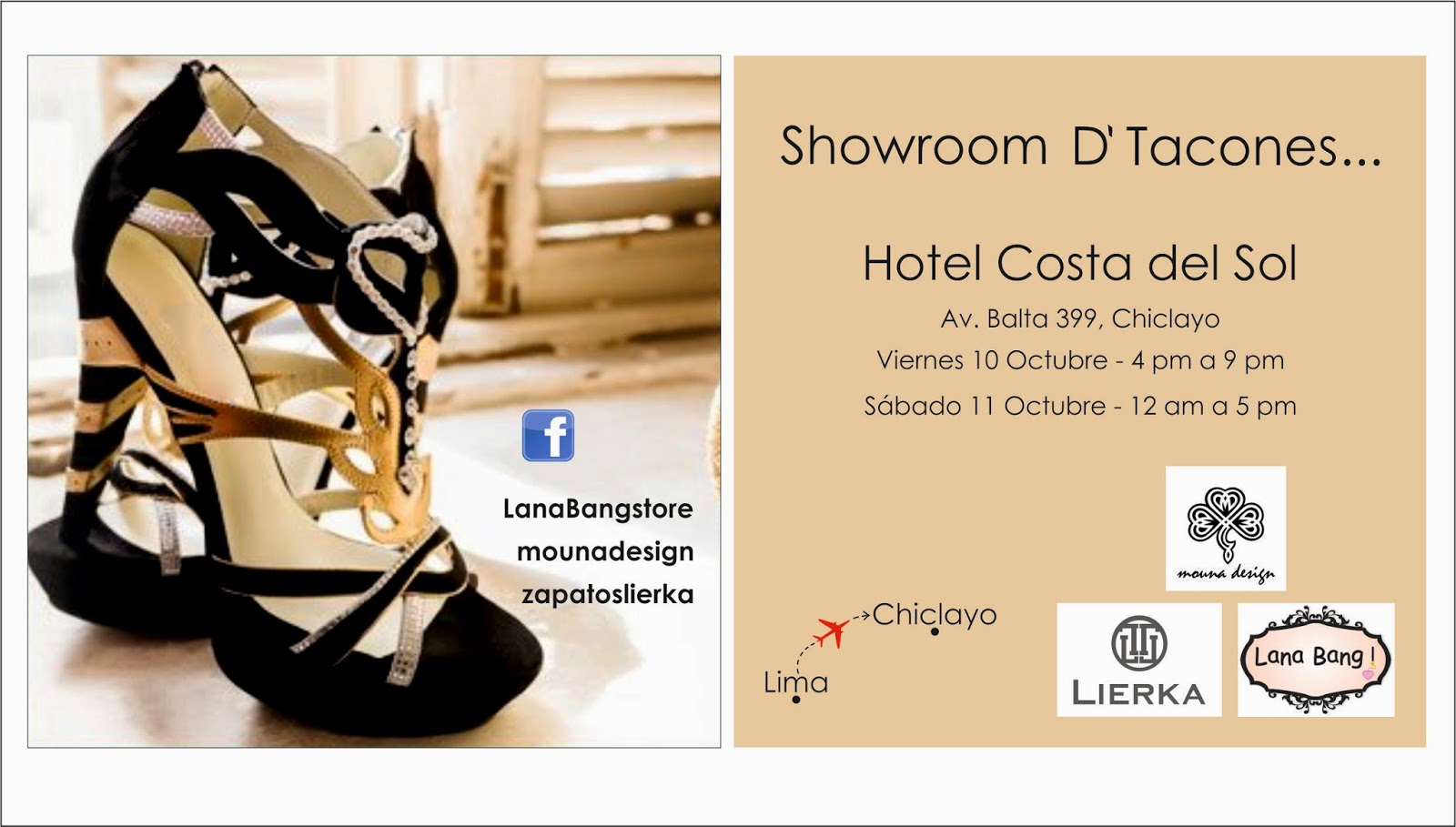 Showroom d 39 tacones chiclayo for Bathroom showrooms costa del sol