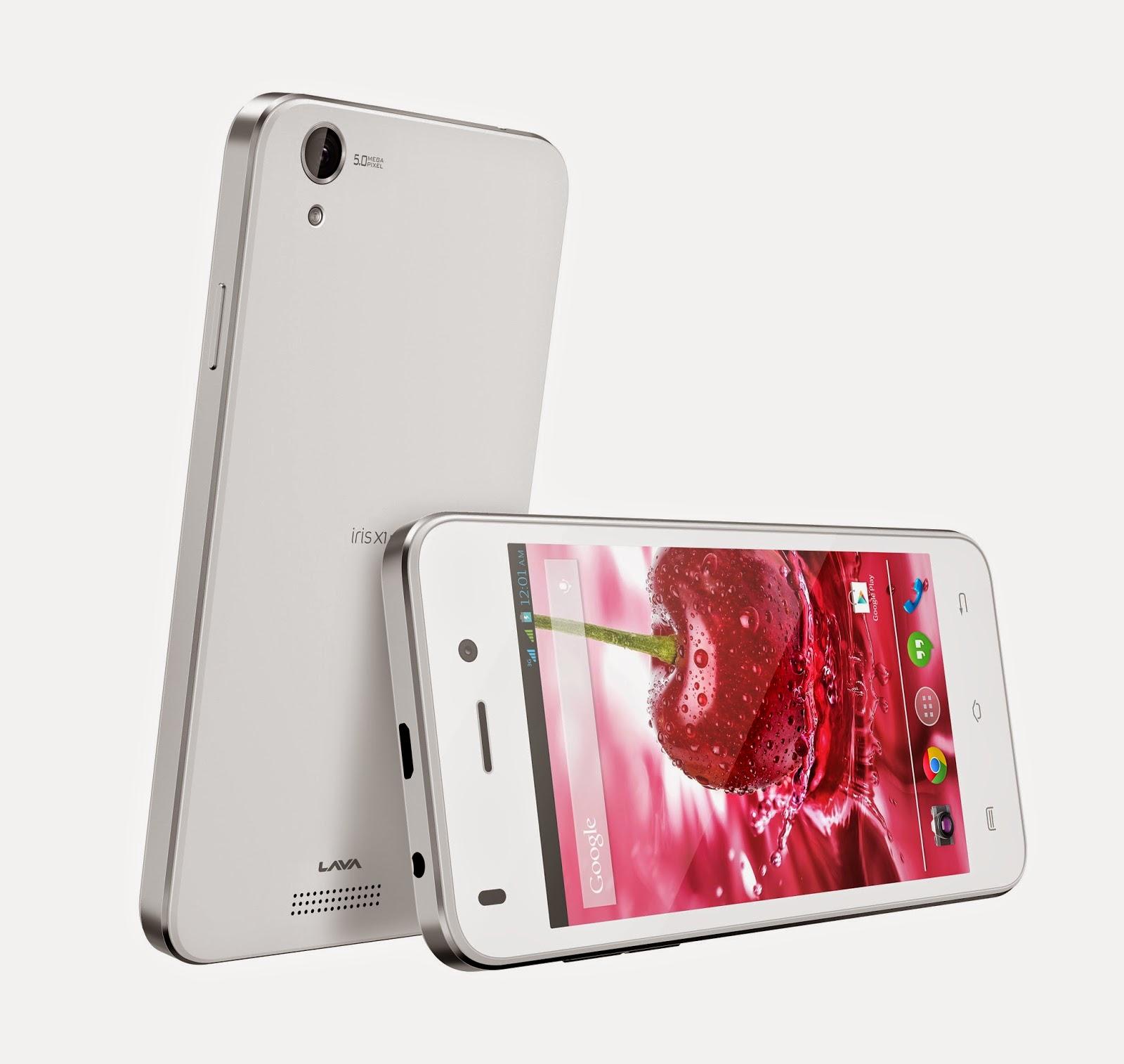 Gadgets, Mobile Phones New Launches in India - Lava Iris X1 Mini