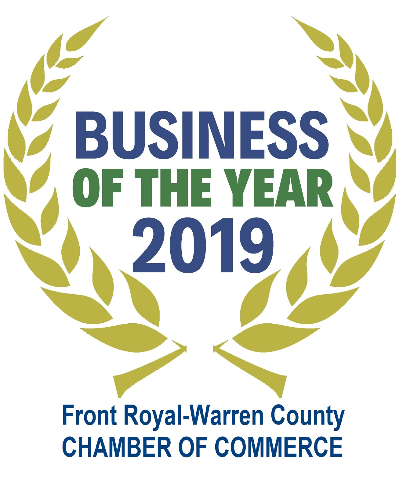 2019 Business of the Year - Front Royal/Warren County Chamber of Commerce