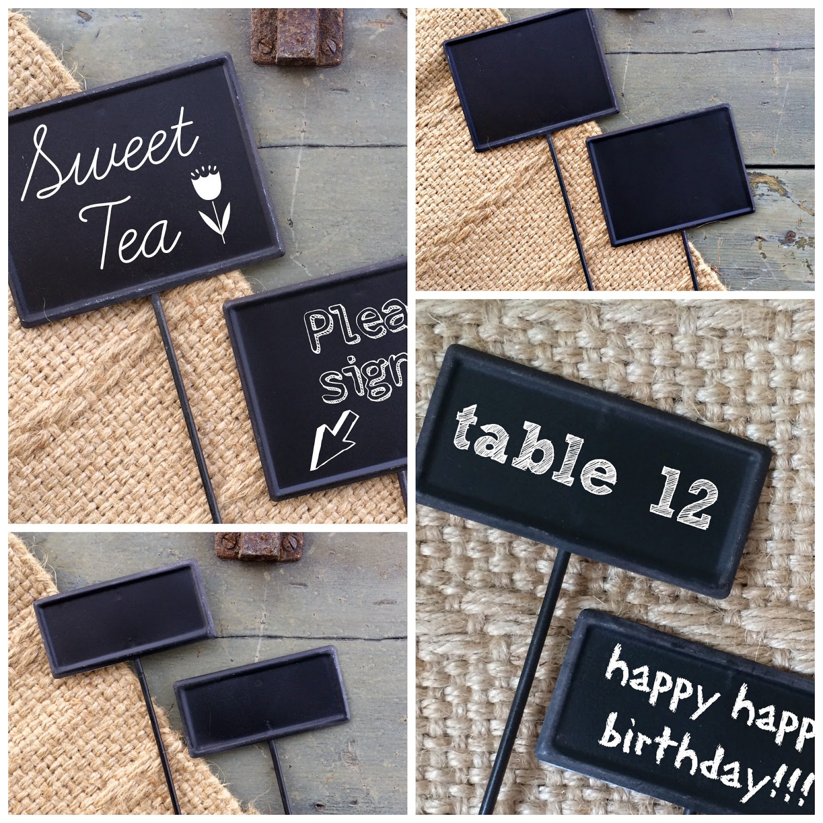 Chalkboard Stakes Outside the Box Papers