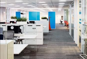 interior kantor minimalis moden