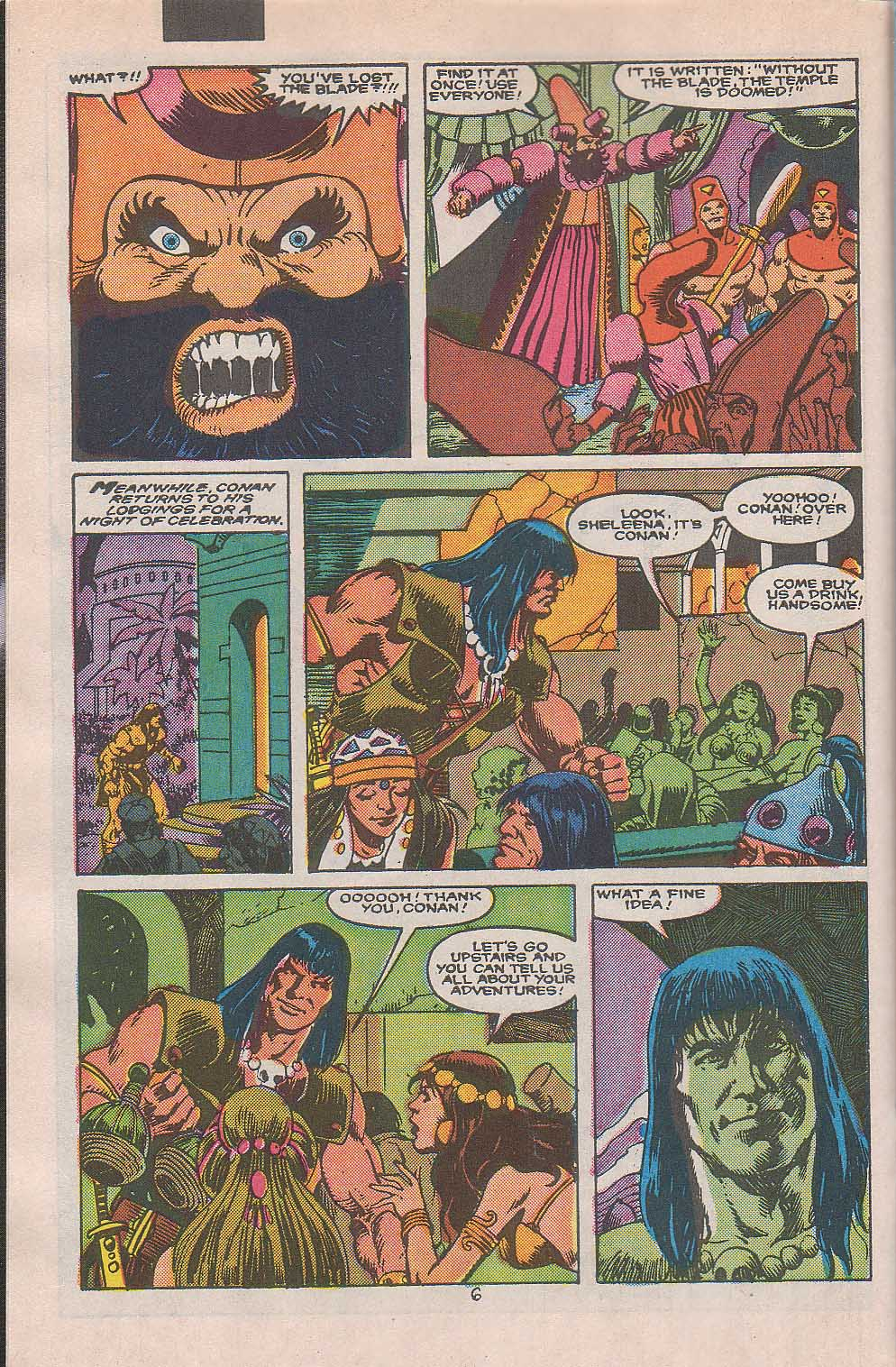 Conan the Barbarian (1970) Issue #216 #228 - English 6