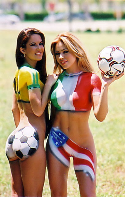 World Cup Brazil 2014: sexy hot girls football fan, beautiful woman supporter of the world. Pretty amateur girls, pics and photos