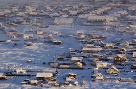Oymyakon,tempat paling sejuk