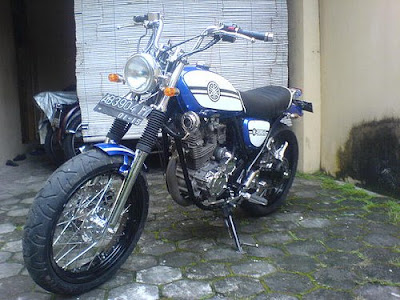 Modifikasi Yamaha Scorpio Terbaru 2011 - Motorcycle Modification and