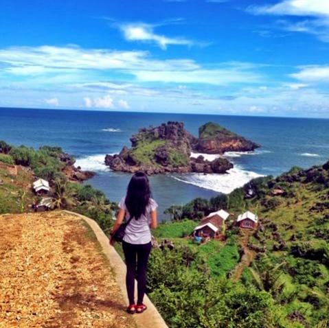 Pantai Nglambor Surganya Keindahan Bawah Air Gunung Kidul ...