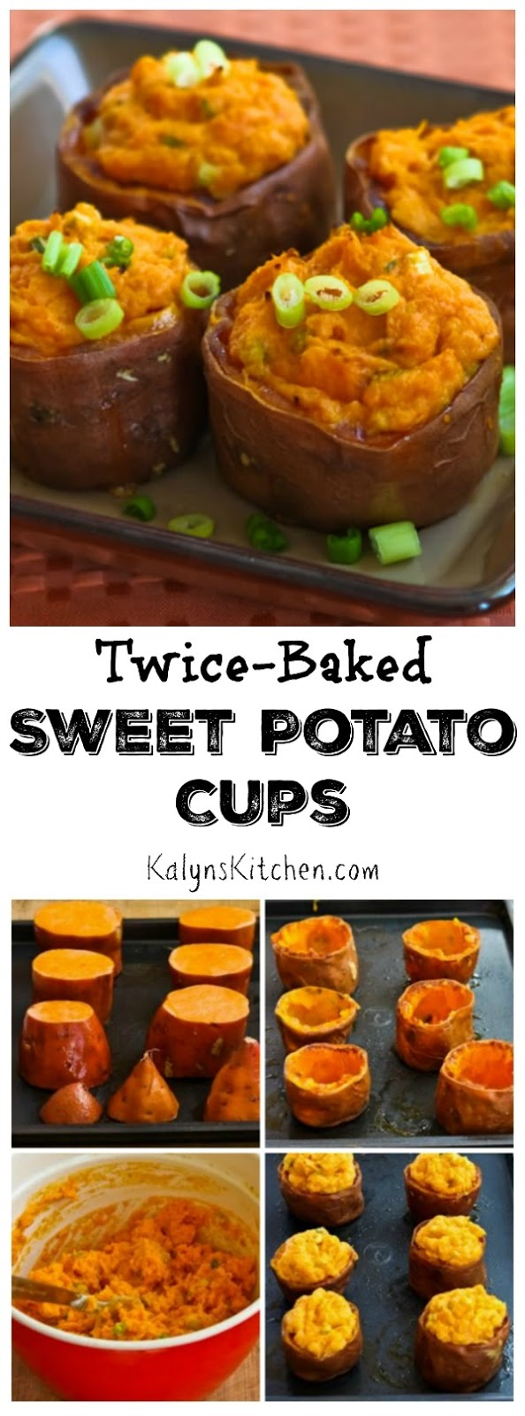 ... ®: Twice-Baked Sweet Potato Cups with Sour Cream, Chipotle, and Lime