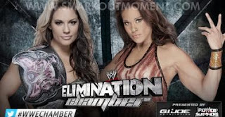 Watch WWE Elimination Chamber 2013 Tamina vs Kaitlyn Match Online Free Divas Championship