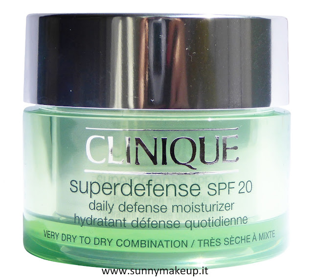 Clinique - Superdefense SPF 20. Crema idratante viso.