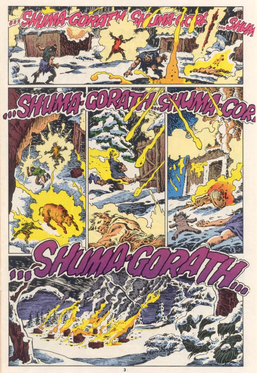 Conan the Barbarian (1970) Issue #252 #264 - English 4