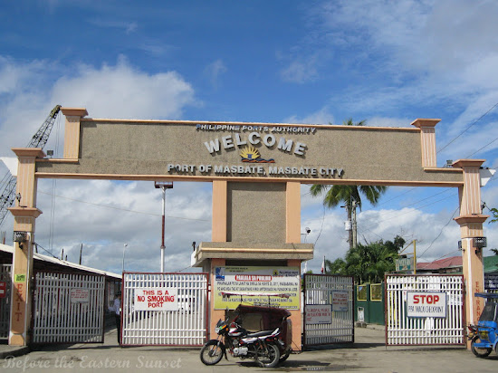 Entrance to Port of Masbate City, Bicolandia
