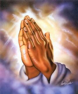 hands, praying, god, light, painting