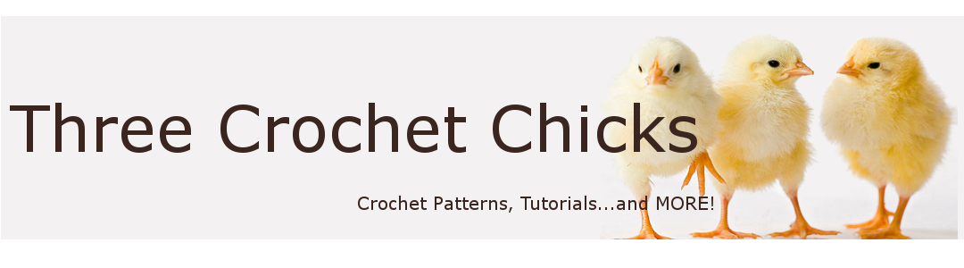 Three Crochet Chicks - Shop!