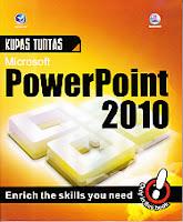 toko buku rahma: buku KUPAS TUNTAS MICROSOFT POWERPOINT 2010, pengarang madcoms, penerbit andi