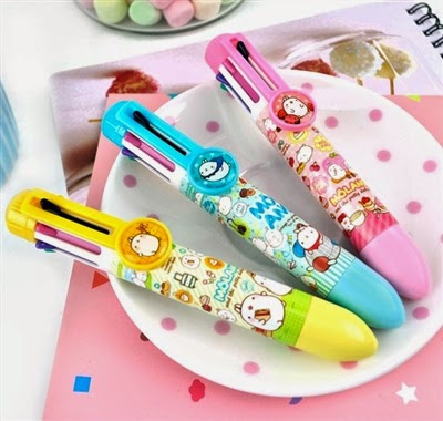 molang ballpoint pens at CoolPencilCase.com