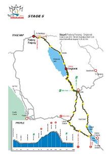 etape 5 tour de singkarak 2012