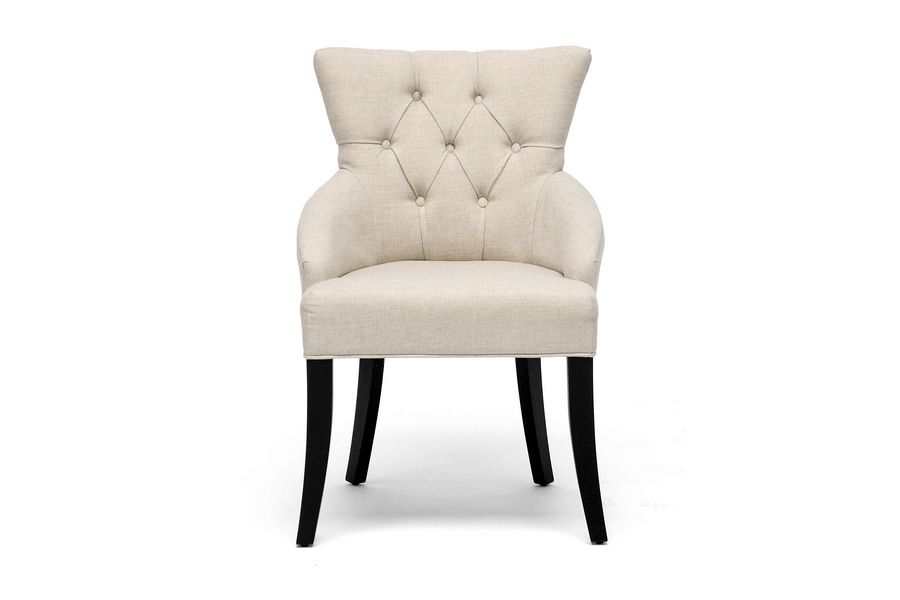 hidden gems classic beige accent chairs - Decorative Chairs