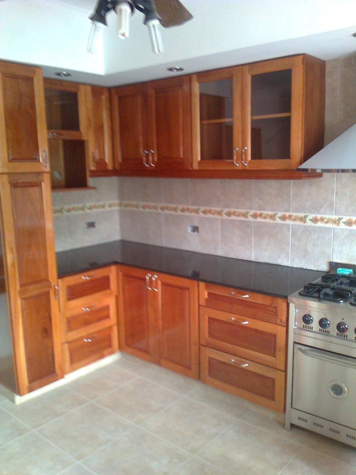 benjamin muebles de cocina cedro