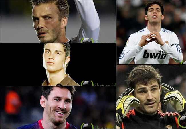 10 Pemain Sepakbola yang paling Ganteng dan terhebat di Dunia