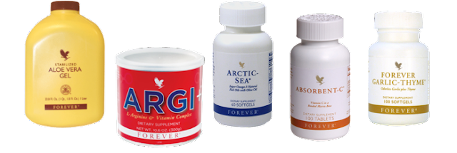 forever living products for heart disease