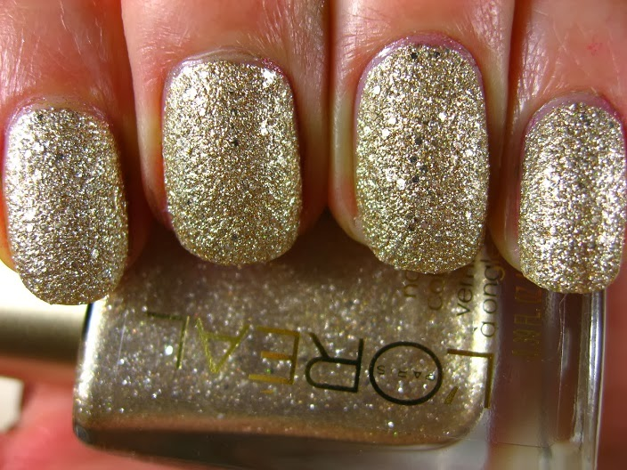 Right on the Nail: L\'Oreal Colour Riche Gold Dust Polish Collection ...