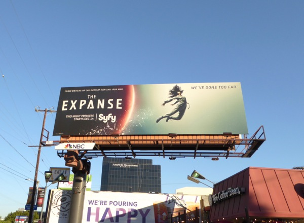 The Expanse season 1 billboard