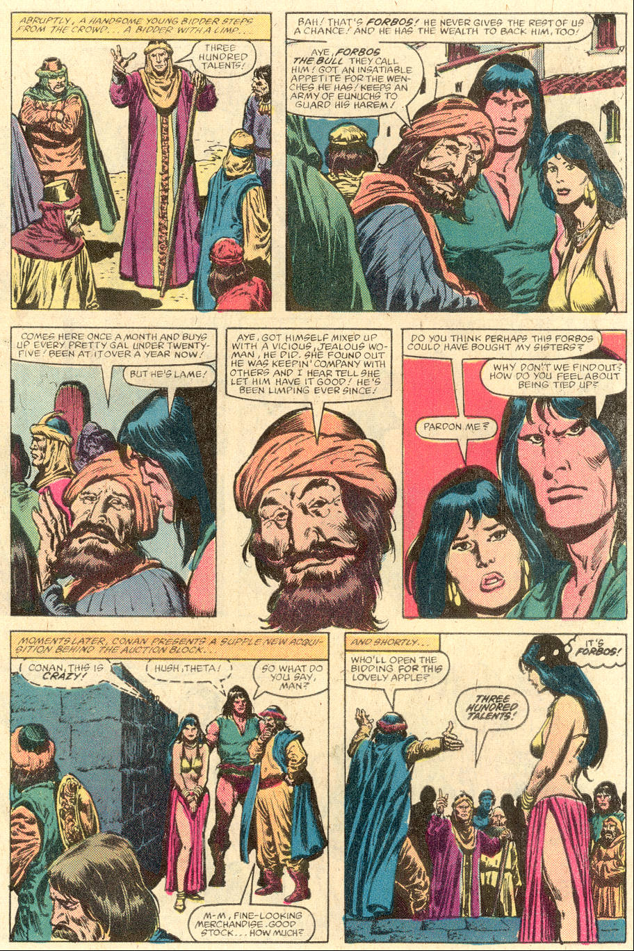 Conan the Barbarian (1970) Issue #142 #154 - English 5