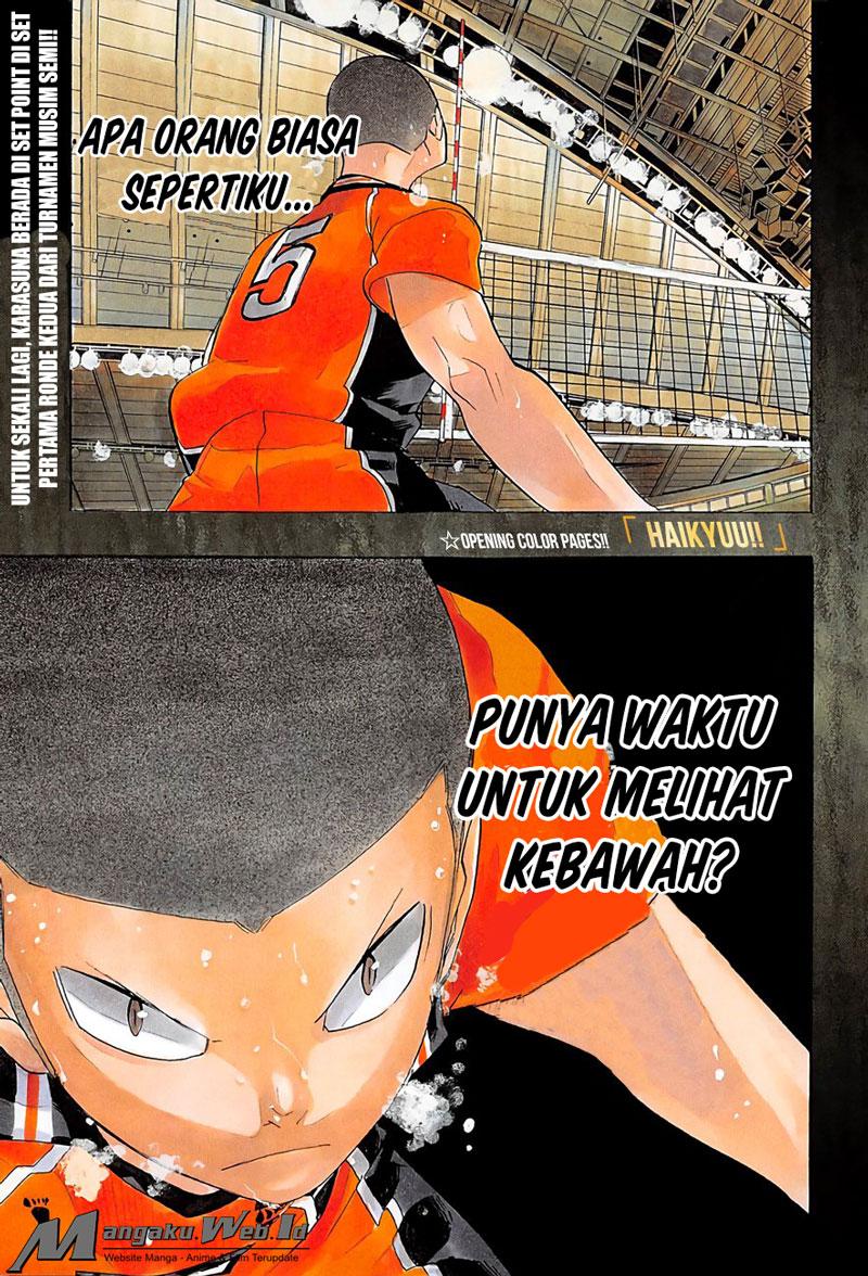 Haikyuu!! Chapter 264-1