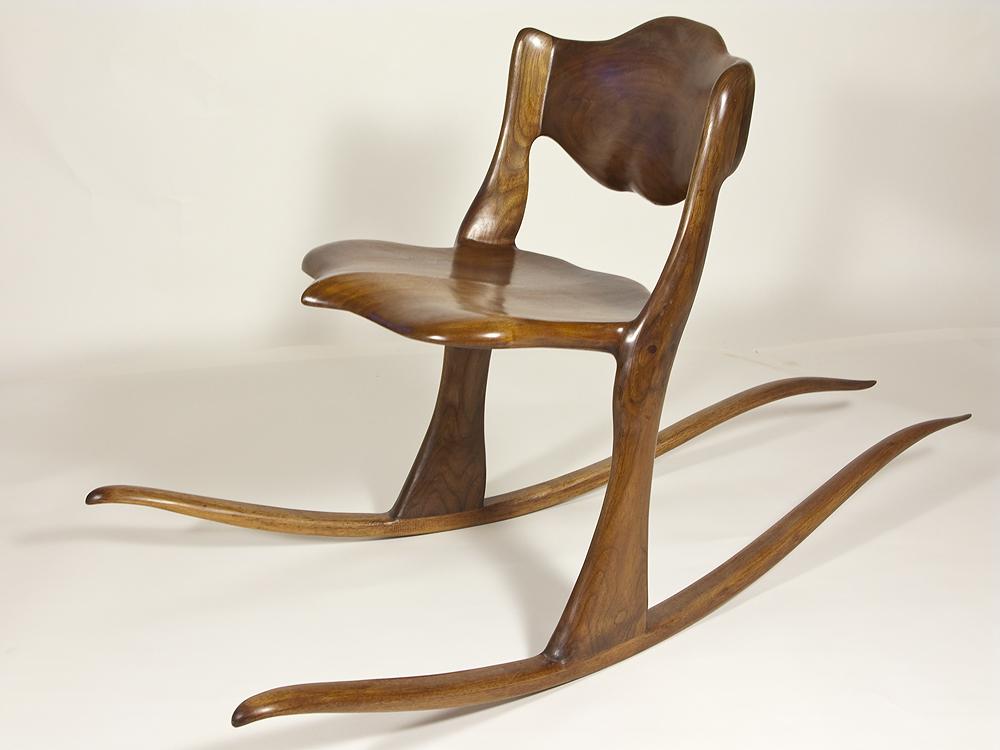 Two Legged Rocking Chair