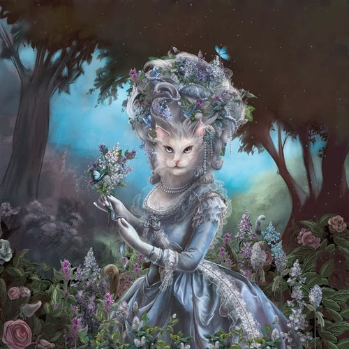 06-Marie-Antoinette-Animals-From-History-Illustrator-&-Writer-Christina-Hess-www-designstack-co