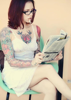 Color Female, sexy woman tattoo, woman tattoo, woman tattooed, woman tattoos, girls tattoo,