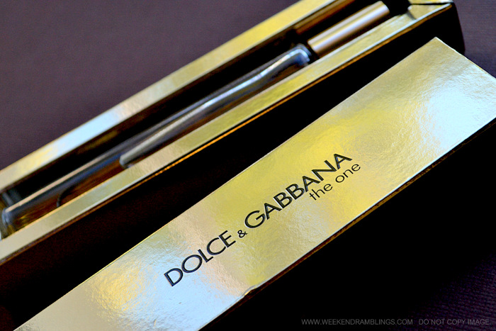 Dolce Gabana The One Eau de Parfum Indian Beauty Makeup Perfumes Blog Reviews Ingredients Designer Fragrances Women