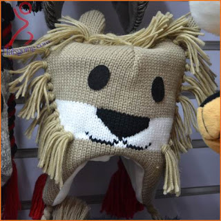 Knit animal hats