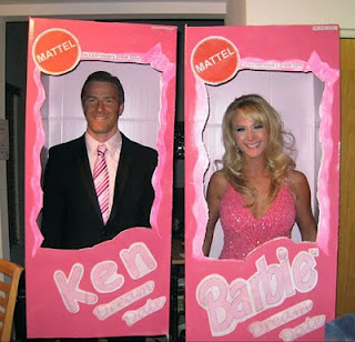 fantasias criativas barbie e ken