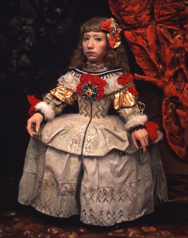 yasumasa morimura Yasumasa morimura an inner dialogue with frida kahlo (collar of thorns) 2001.