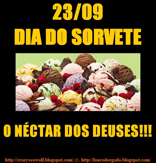 Dia do sorvete
