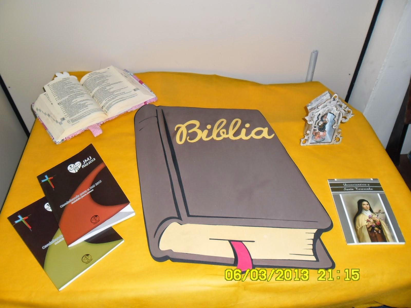 Bíblia, fonte importante na Catequese!