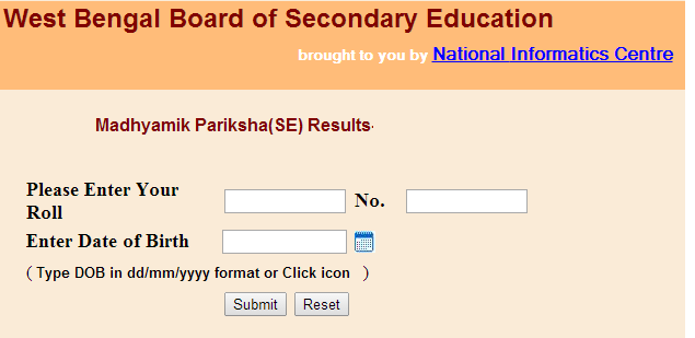 wbresults.nic.in class 10th Result 2015