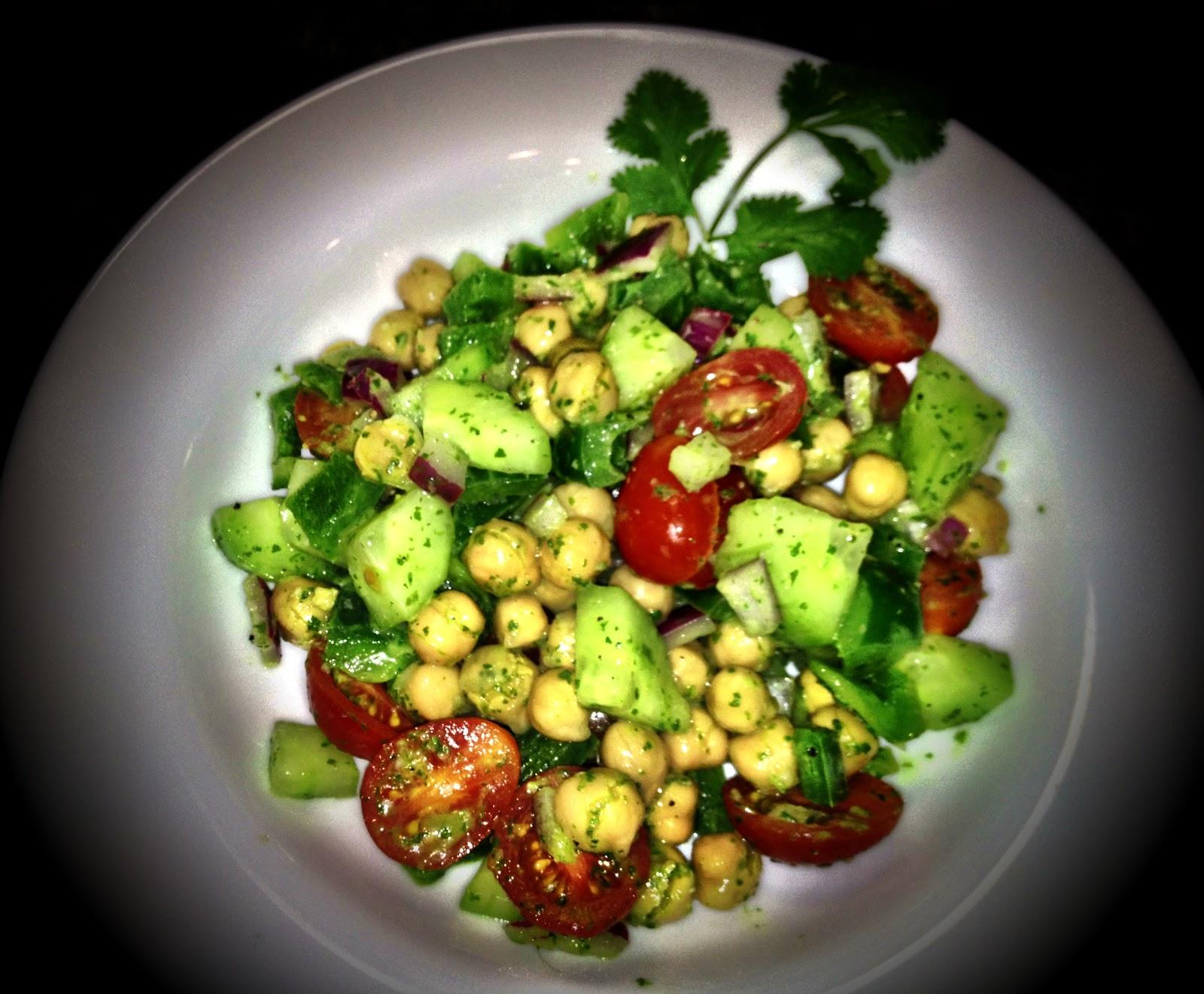 Cilantro lime chickpea salad recipe,vitamins mushrooms health benefits ...