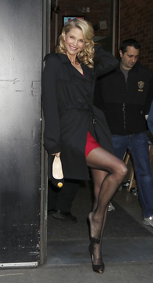 Christie Brinkley In Herv Lger Fashionably Fly