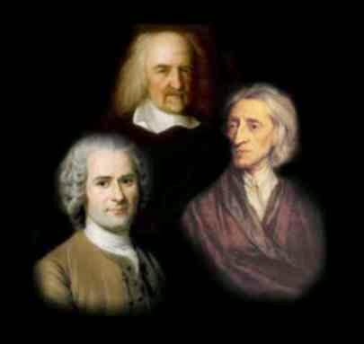 hobbes locke rousseau Essay on the social contract theory: hobbes, locke & rousseau the social contract is an attempt to explain the reason why individuals agree to form organized.