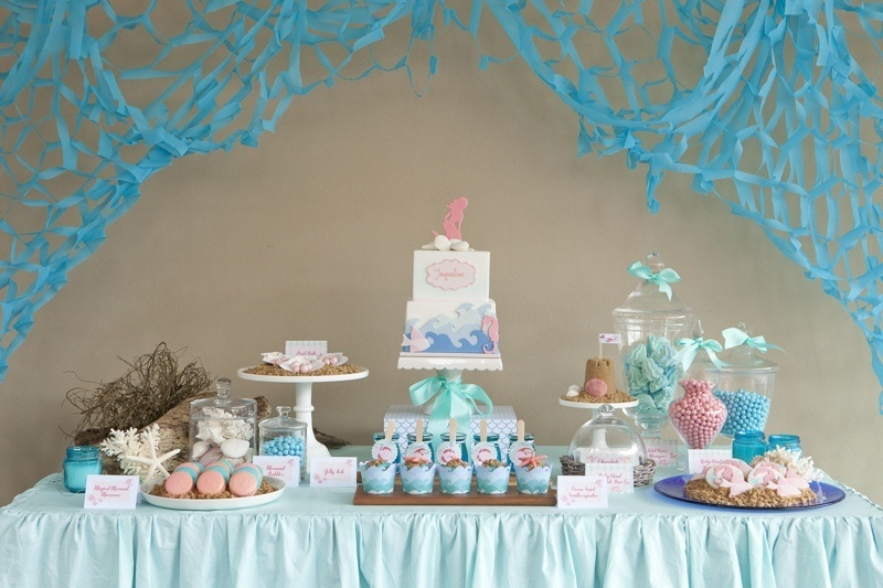 need to be turning 5 to have a dreamy sea and mermaid themed party