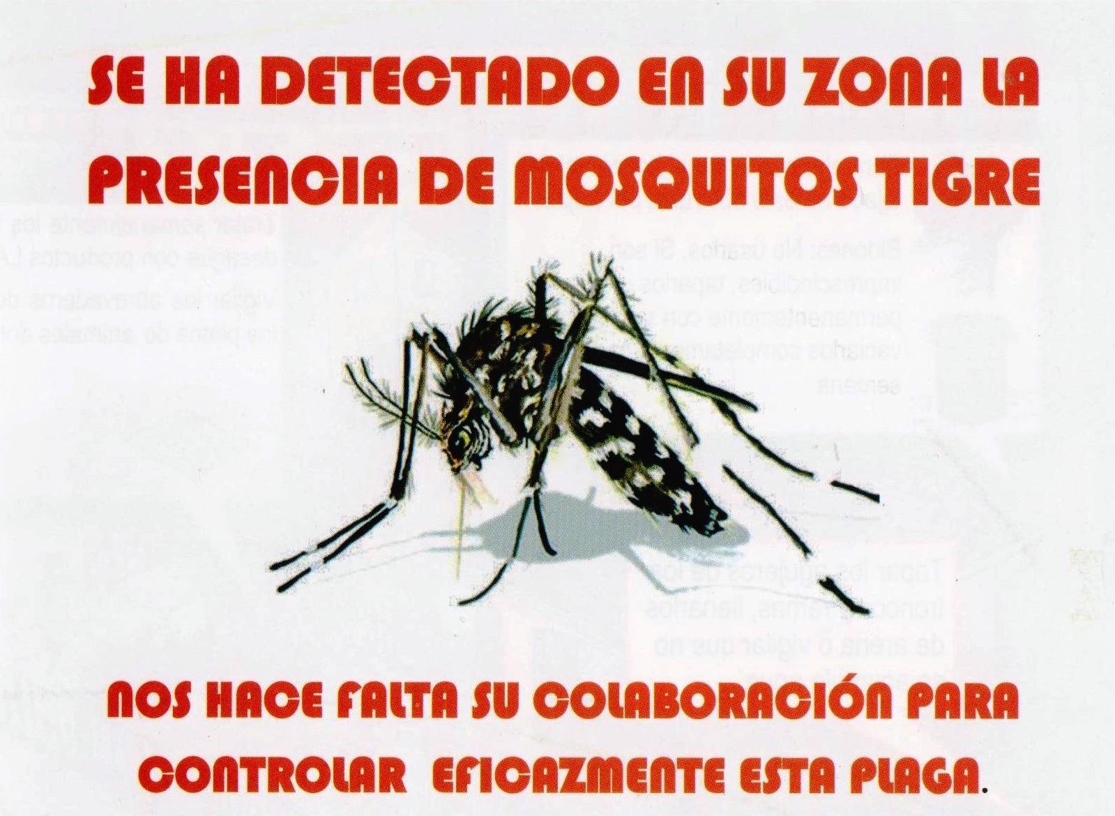 Folleto de prevención contra el mosquito Tigre