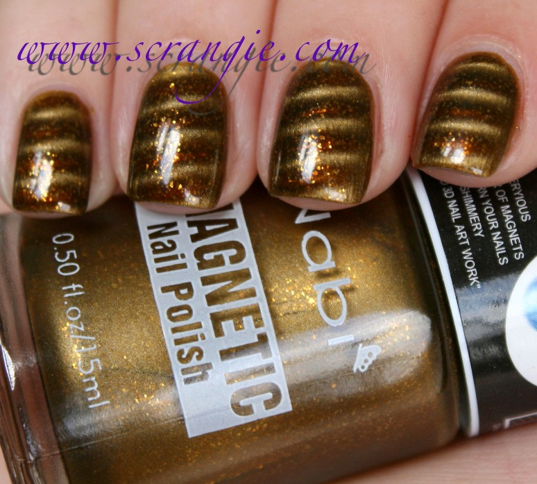 Scrangie: Nabi Magnetic Nail Polish Swatches and Review