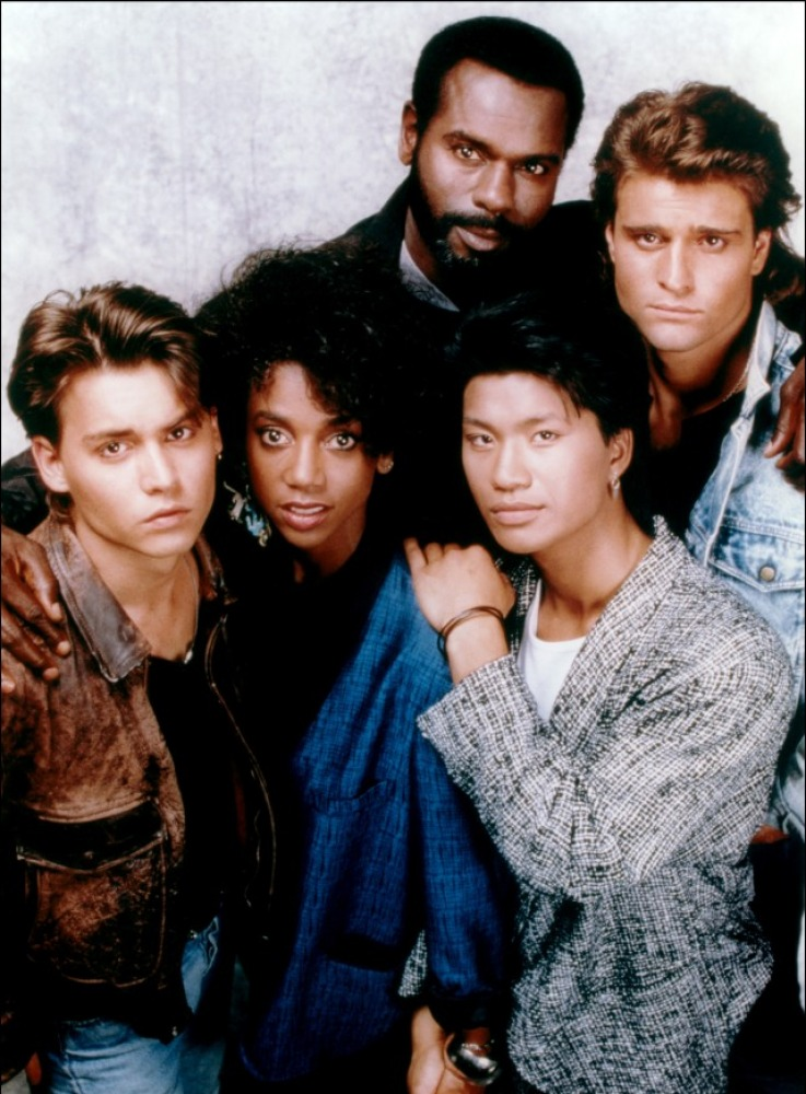 Cast of the original TV series. Three of them do cameos.